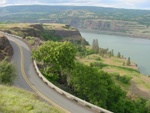 Panoramic view of the Gorge from Historic Highway 30