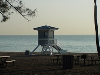 Highlight for Album: Fort Lauderdale Beach - Setting up for the Festival